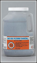 BAIT BOX FILTERING CHARCOAL 99% Pure Carbon